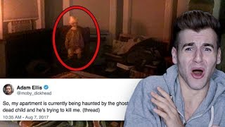 DAVID THE GHOST GOT IN HIS APARTMENT!! (Continued)