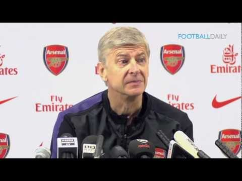 Arsene Wenger Pre Match | Arsenal vs Chelsea