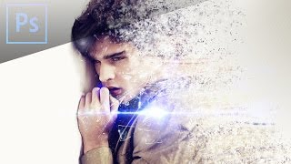 Photoshop CS6 Tutorial  - Disintegration Effect
