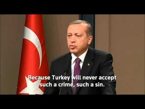 Erdogan on Armenian Genocide: