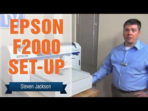 Epson F2000 Set Up