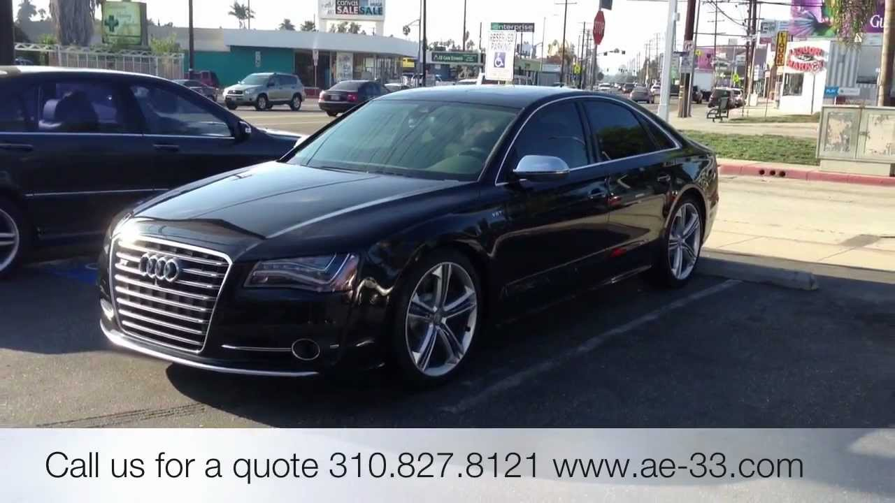 2012 Audi S8 Ceramic Window Tint Uv And Heat Rejections