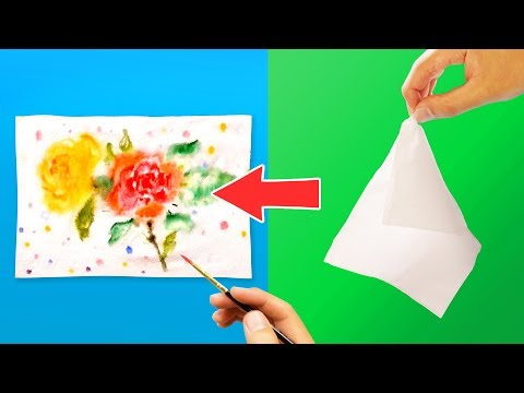 Tissue Painting Technique You Must Try!