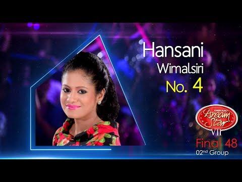 Dream Star Season 7 | Final 48 ( 02nd Group ) Hansani Wimalsiri - 10-06-2017
