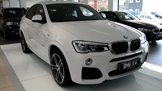 2015 New BMW X4 xDrive 30d with M Sport package F26