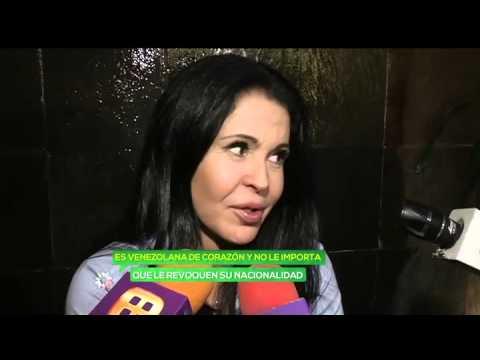 María Conchita Alonso teme por su vida por críticas al gobierno de Venezuela