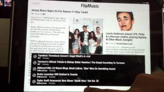 Thumb Flipboard: La mejor APP para leer noticias en el iPad (y GRATIS)