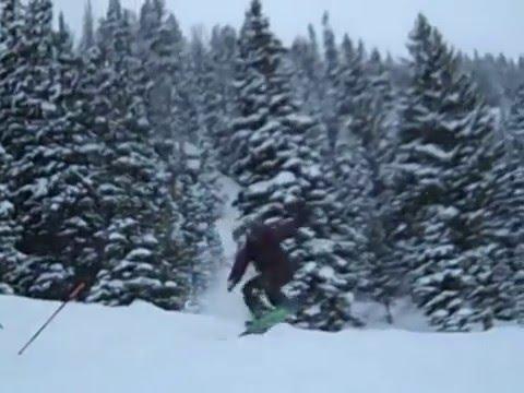 Jackson hole, WY Snowboarding Trip Part 2