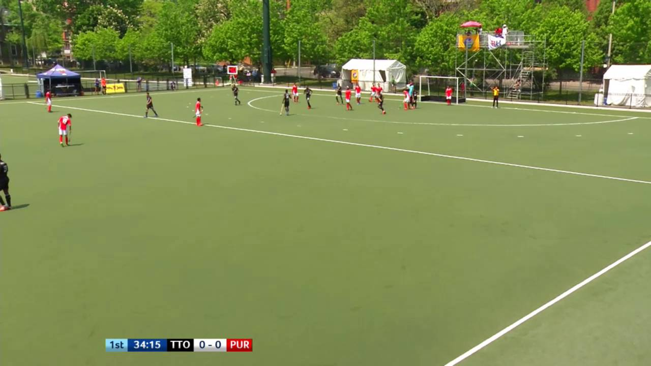 TTO 1-0 PUR Trinidad and Tobago score with less than a minute on the clock #JrPanam2016