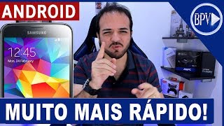 Seu Celular Android Muito MAIS RÁPIDO - Dicas BPV!