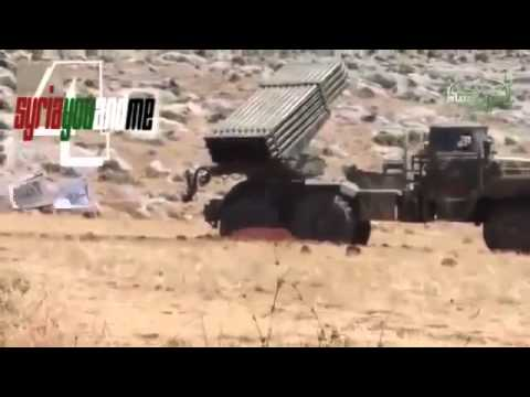 syriawarnews--FSA Missiles attack on Syrian Army Barrier Syria war