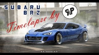 Subaru BRZ TIMELAPSE by RP.DESIGN [VIRTUAL TUNING]