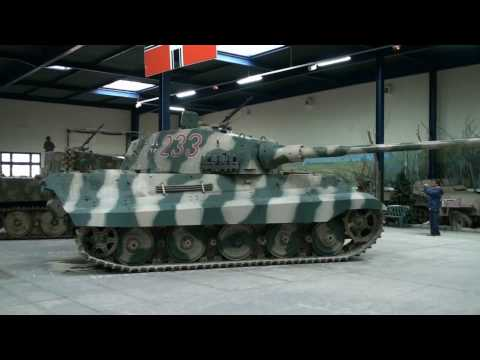 Tigre Royal Full HD, King-Tiger, Panzers TANK 2010 PART 2/3.wmv