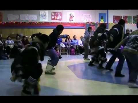 Jimmy Kalinek Drum dancing Demo and First Place win in Tuktoyaktuk 2011