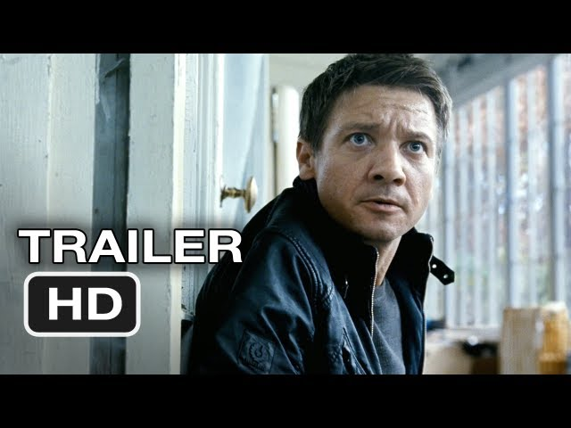 The Bourne Legacy Official Trailer #1 - Jeremy Renner Movie (2012) HD