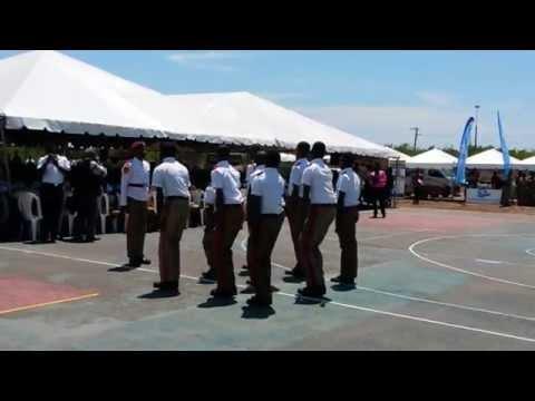Garvey Maceo High school N.I.B CADETS at The Caribbean Maritime Institue