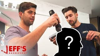 ACTOR JOSH PECK WORKS IN A BARBERSHOP NOW? | Jeff's Barbershop