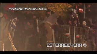 Bundespolizei, Bundesheer und Rotes Kreuz im Großeinsatz