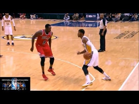 Part 2: http://www.youtube.com/watch?v=xfjLpQRS06A&feature=youtu.be Paul George's jumpshots, crossovers, dunks, step back jumpers, drives, jab steps... I dec...