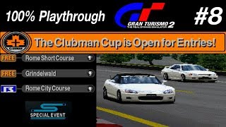Gran Turismo 2 - #8 - Clubman Cup (100% PT)