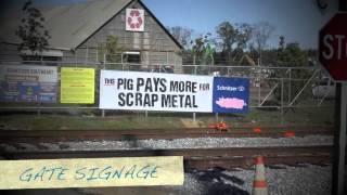 Schnitzer The Pig for Schnitzer Steel