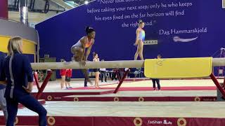 Simone Biles - Beam - world training DOHA