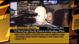 VIDEO: Haiti - Rankont Martelly ak LAVALAS, 17 Desanm 2014, Yon Reportaj