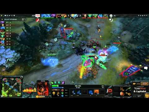 LGD vs Invictus Gaming Game 2  Sina Cup TobiWanDOTA DotaCapitalist