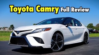 2019 Toyota Camry: FULL REVIEW   The Crazy Cool Camry Adds Apple CarPlay!