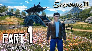 SHENMUE 3 Walkthrough PART 1 (PC) Early Access Demo Gameplay @ 1440p (60ᶠᵖˢ) ✔