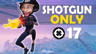 SHOTGUN ONLY | HIGH KILL FUNNY GAME - (Fortnite Battle Royale)