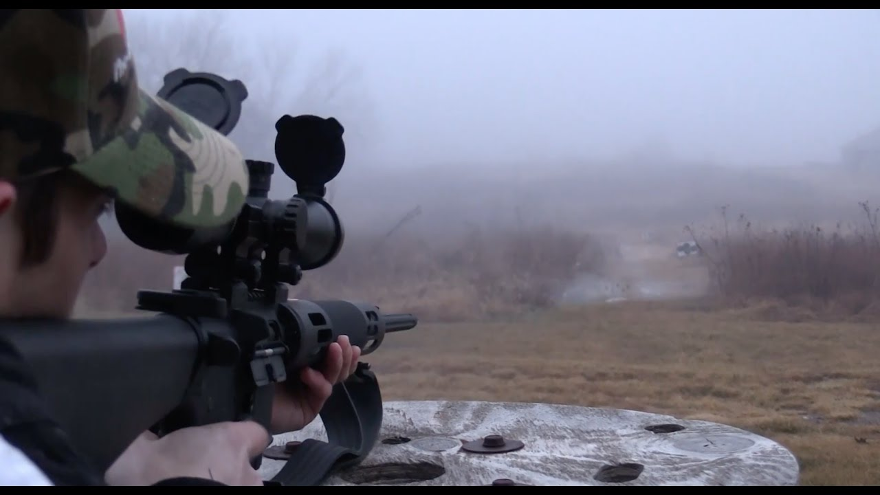 Shooting Ar Coyote Hunt Youtube