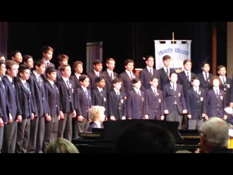 Trinity Middle school vocal ensemble 27 August 2014