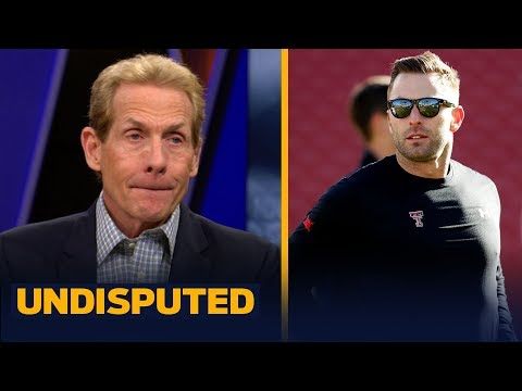 Skip and Shannon react to Kliff Kingsbury being hired as the Cardinals head coach | NFL | UNDISPUTED
