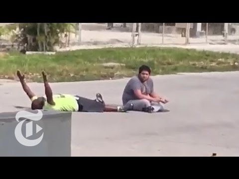 Police Shoot Unarmed Black Man in Florida | The New York Times