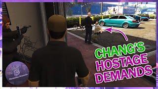 NoPixel CHANG'S HOSTAGE DEMANDS, COPS TRY THE BRIDGE RUN   GTA 5 RP Funny Moments/Highlights 114