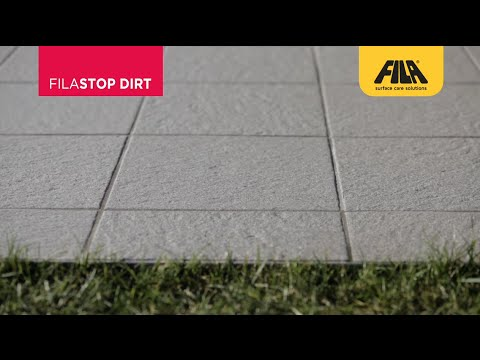 How to Protect Porcelain Tiles From Dirt With FILASTOP DIRT (en)