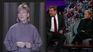 "Ellen On James The Late Late Show ""It's Really Was A Sinbad Fault"""