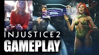 Injustice 2 Poison Ivy vs Catwoman GAMEPLAY