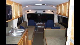 Bus Conversion Design : Part 3 Interior