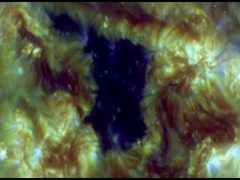 NASA Confirms Massive Hole In The Sun 2013 1080p Available