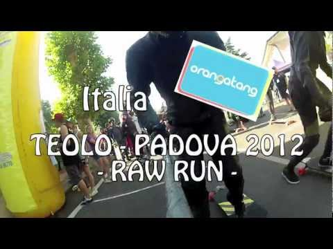 TEOLO-PADOVA 2012 : raw run with Marie and Laurent