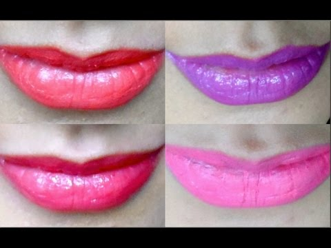 LIP SWATCHES   15 MAC LIPSTICKS SWATCHED! ☆