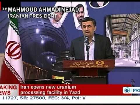 Iran opens uranium mines, yellow cake plant on national nuclear day