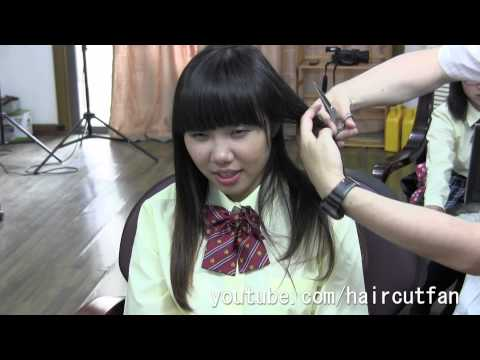 刈り上げJK 3  ☆ High School Girl Haircut  断髪