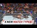WWE 2K18 Top 4 More New Custom Match Types