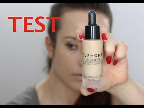 Pierwsze Wrażenie + Test Na żywo - SEPHORA Teint INFUSION Podkład - Recenzja
