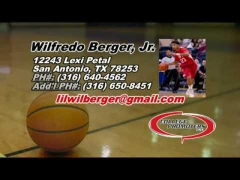 Wilfredo Berger - 2014 AAU & Senior Season Highlights
