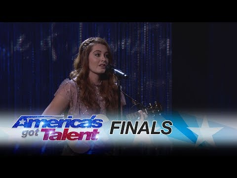Mandy Harvey: Deaf Singer Amazes With Beautiful Tune - America's Got Talent 2017