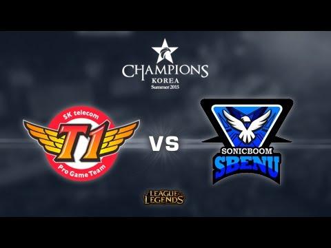 SK Telecom T1 vs Sbenu Sonicboom - Mapa 2 - S7 - Día 4 - LCK Summer Split 2015 - Español